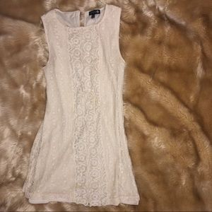 Lace Cotton On shift dress